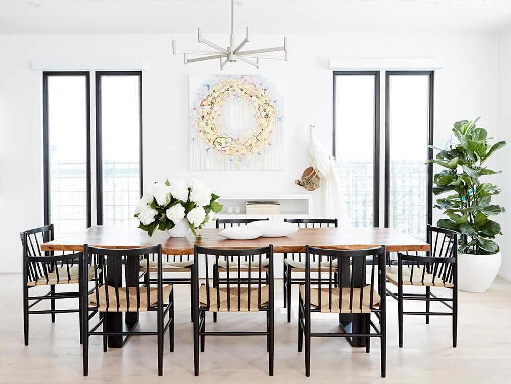 Jen Atkin S Modern Home Makeover Luxury Dining Room Luxury