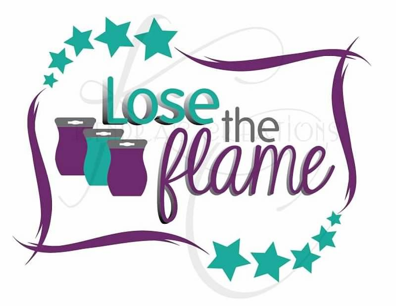 lose the flame custom logo for scentsy consultant kendrascreations rh pinterest ca scentsy logo svg scentsy logo png