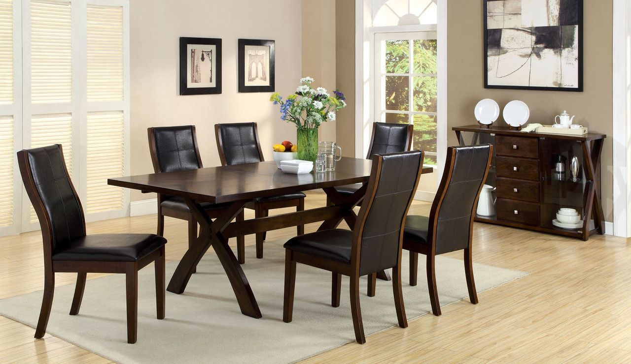 Home Decor Ideas » Stylish Dining Room Table With Leaf And 6 Chairs