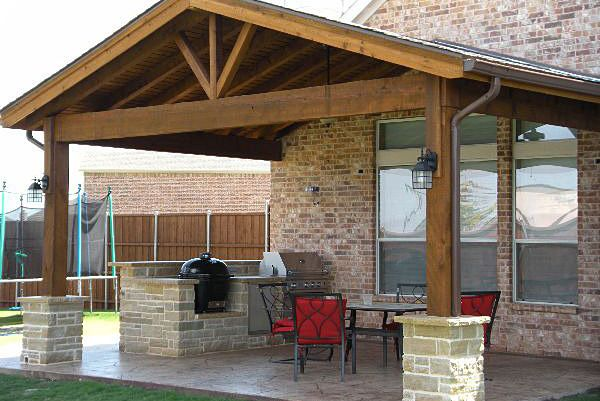 Austin Patio Covers Patio Plans Covered Patio Plans