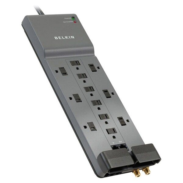 Belkin 12-Outlet Surge Protector with Phone/Ethernet/Coax
