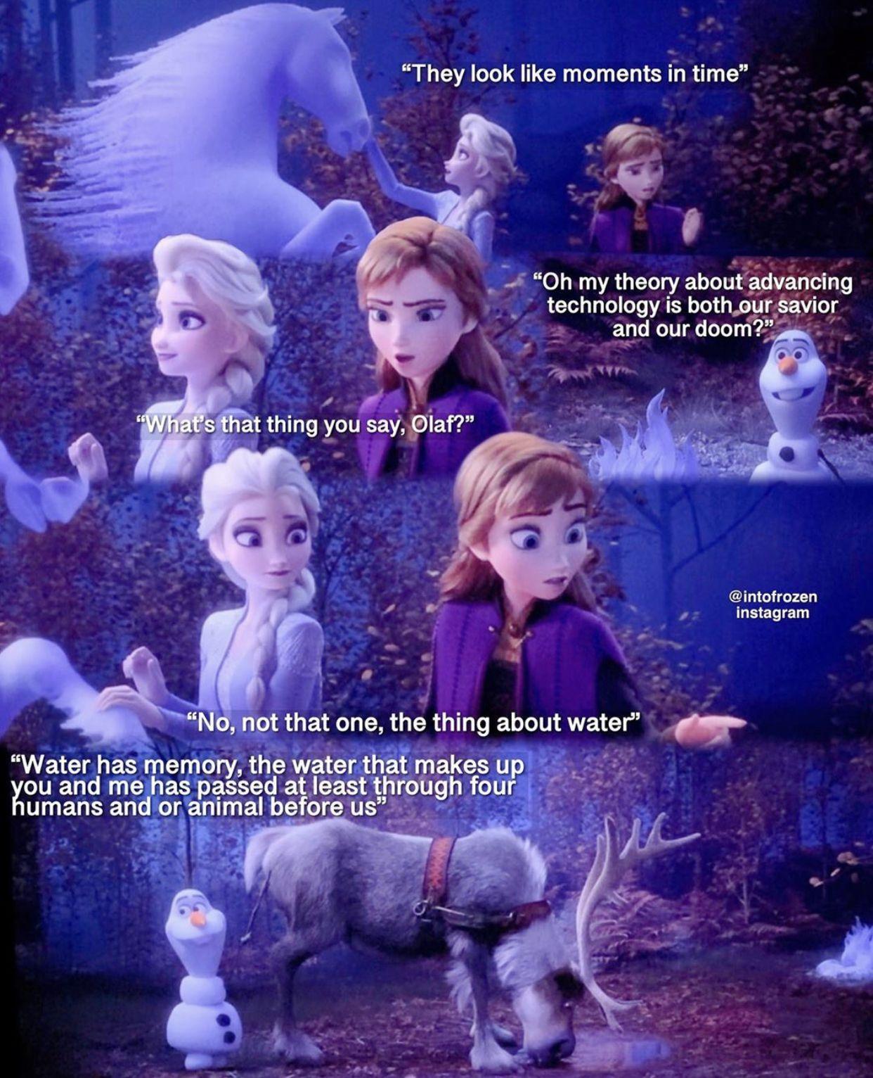 Frozen 2 in 2020 | Frozen disney movie, Frozen memes ...