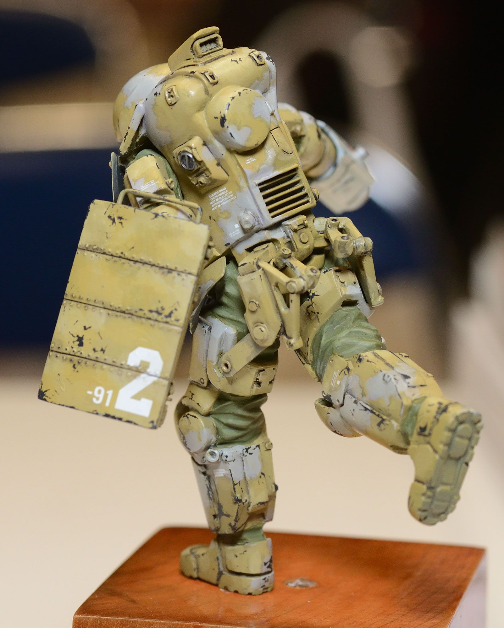 Maschinen Krieger - 1/20-scale AFNS suit by Honemits Products  Rear