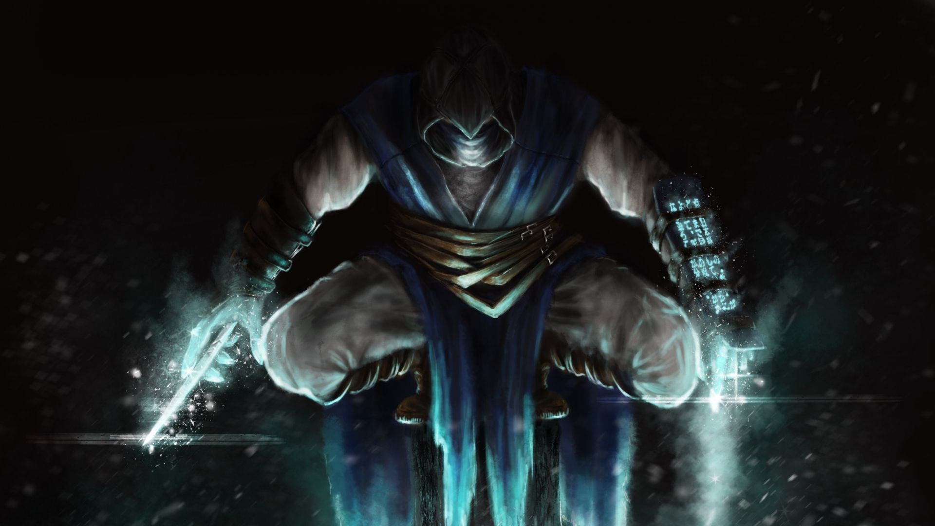 Mortal Kombat Sub Zero Wallpaper Jump Art HD Image