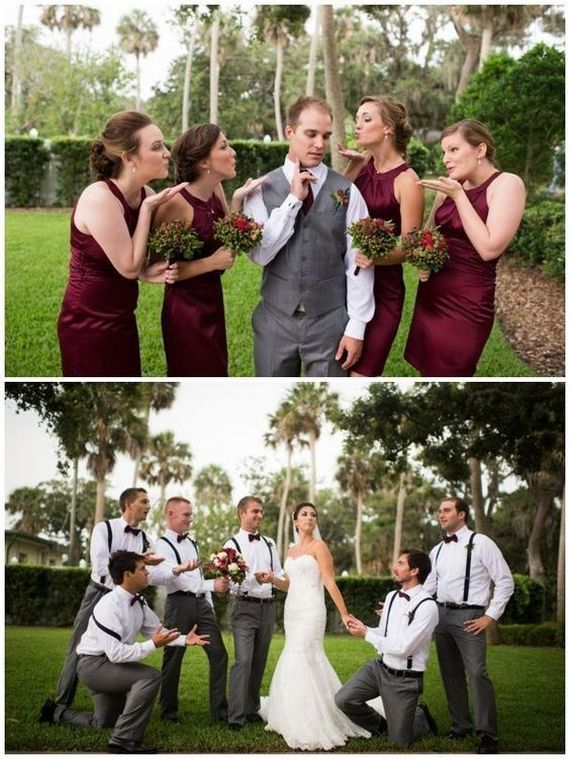21 Creative Wedding Photo Ideas With Bridesmaids And Groomsmen