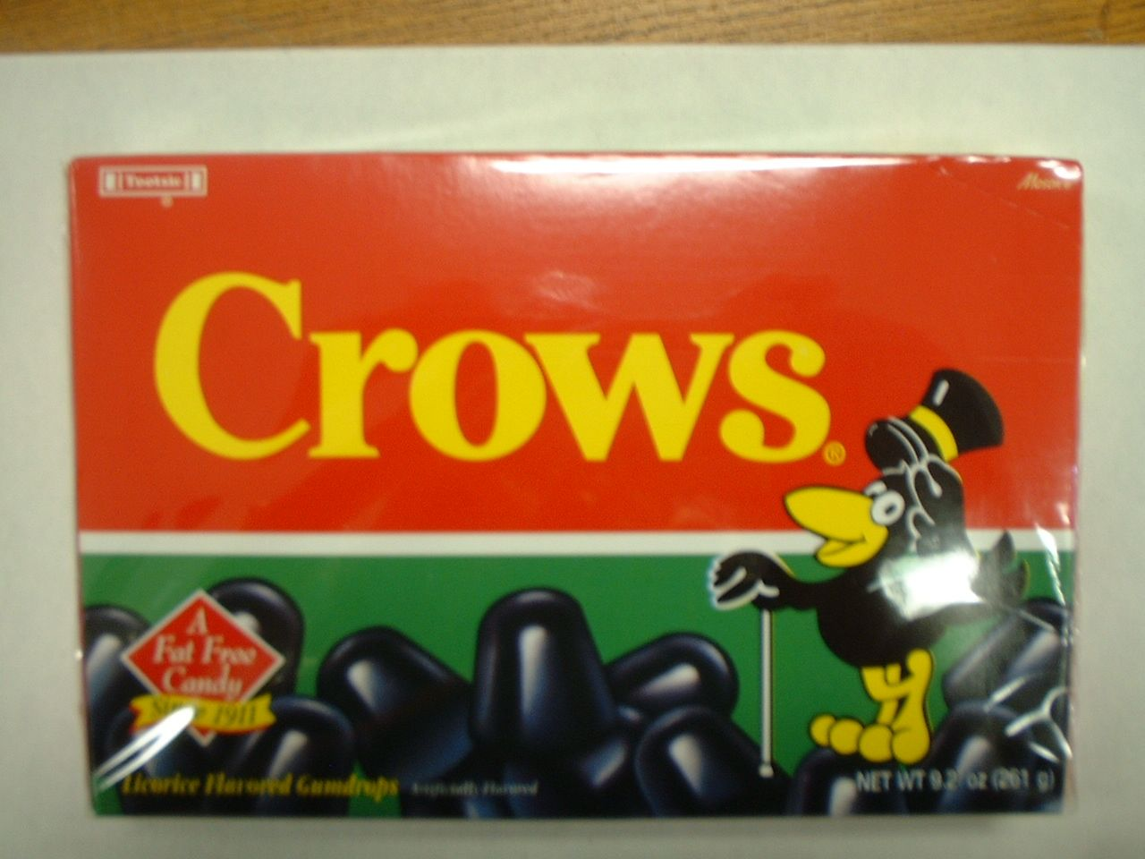 licorice crows old time