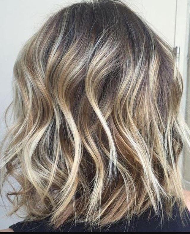 Mechas en pelo corto y rizado