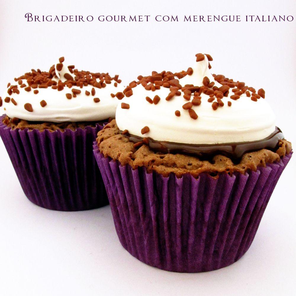 Brigadeiro gourmet com merengue italiano | www.sweetboutique.com.br