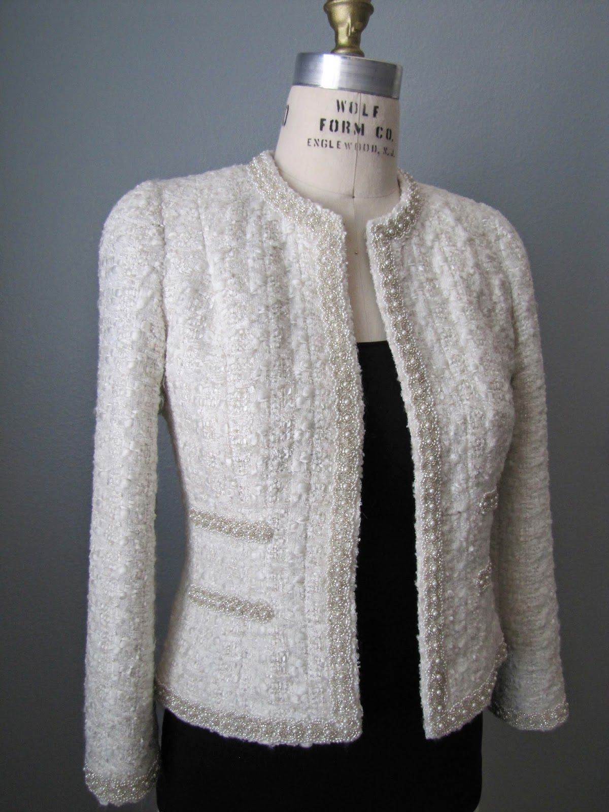 3307f50fad Notes on Chanel Jacket Construction J.Kaori Sews  Classic French Jacket   Finished