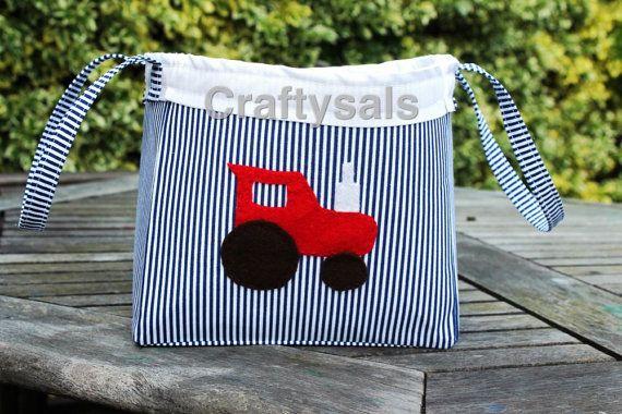 Toy Storage Bag by Craftysals on Etsy