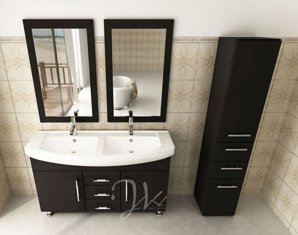 The Best 48 Inch Bathroom Vanities For Mid Sized Layouts Double
