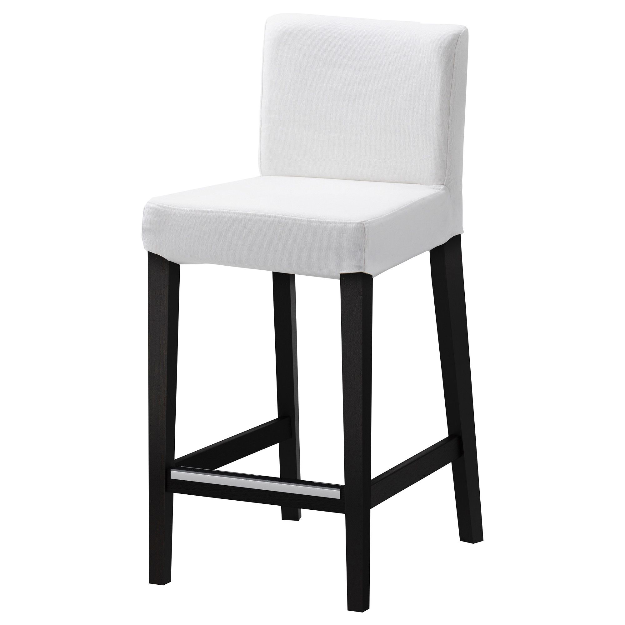 Cheap Black Barstools Henriksdal Bar Stool With Backrest 26x19 Quot Ikea Note