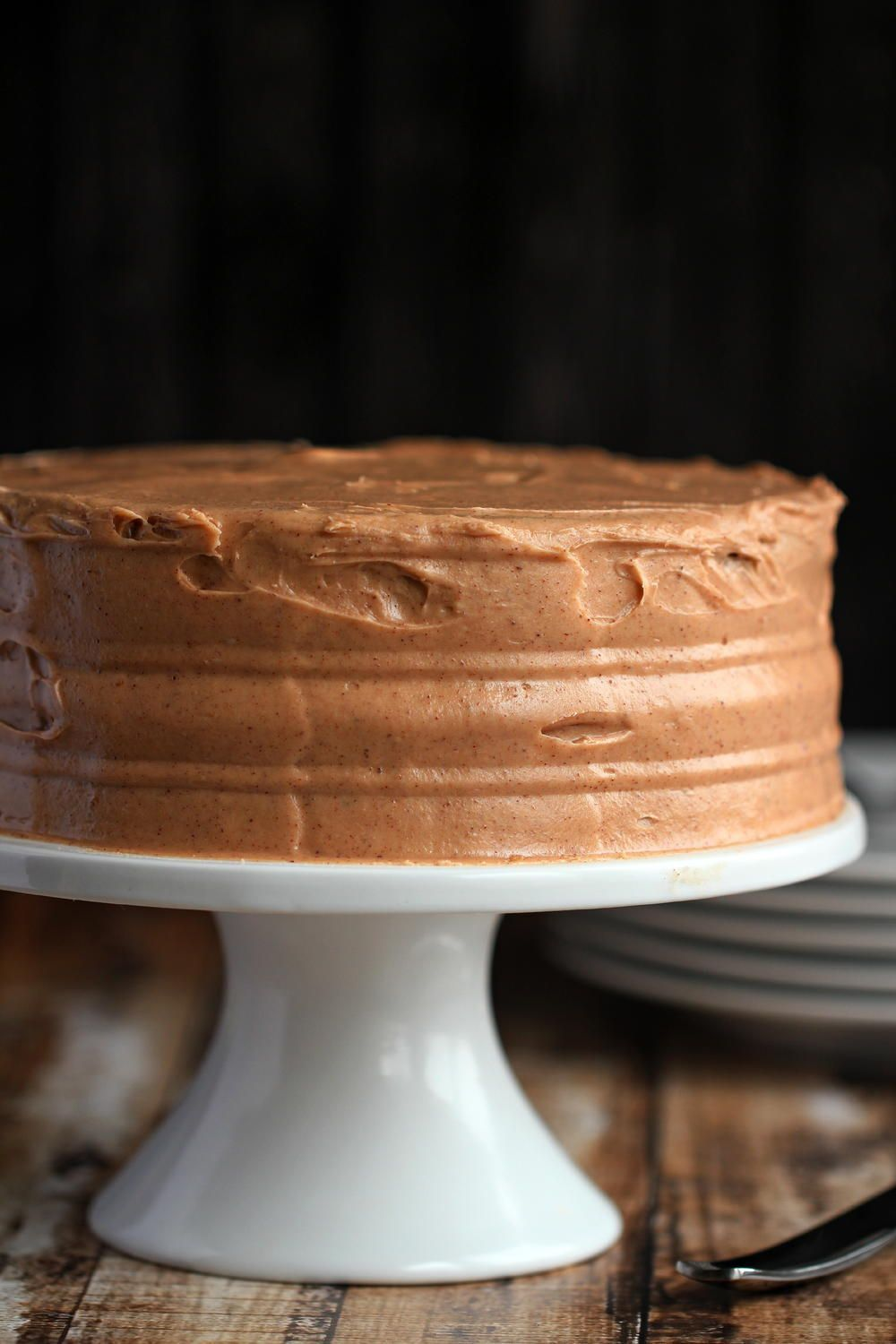 Apple Layer Cake with Cinnamon and Brown Sugar Buttercream