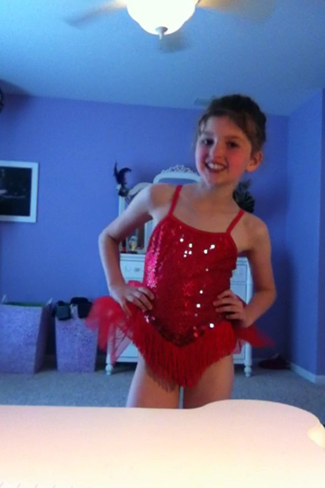 Elena's tap costume! ❤