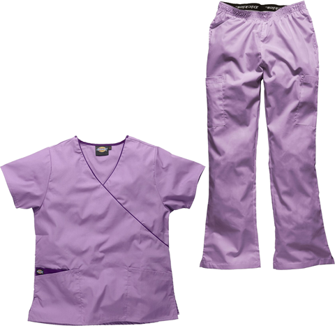 Light Purple Nursery Staff Uniforms And Nurse Will Put A Smile On All Of The Kids Faces