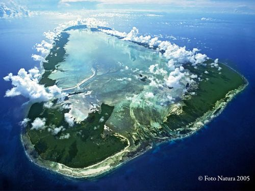 Another Google Maps find Aldabra Atoll near the Seychelles A