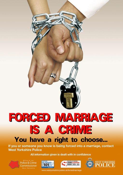 mariages forcés (crime, police, Royaume-Uni, 2015)
