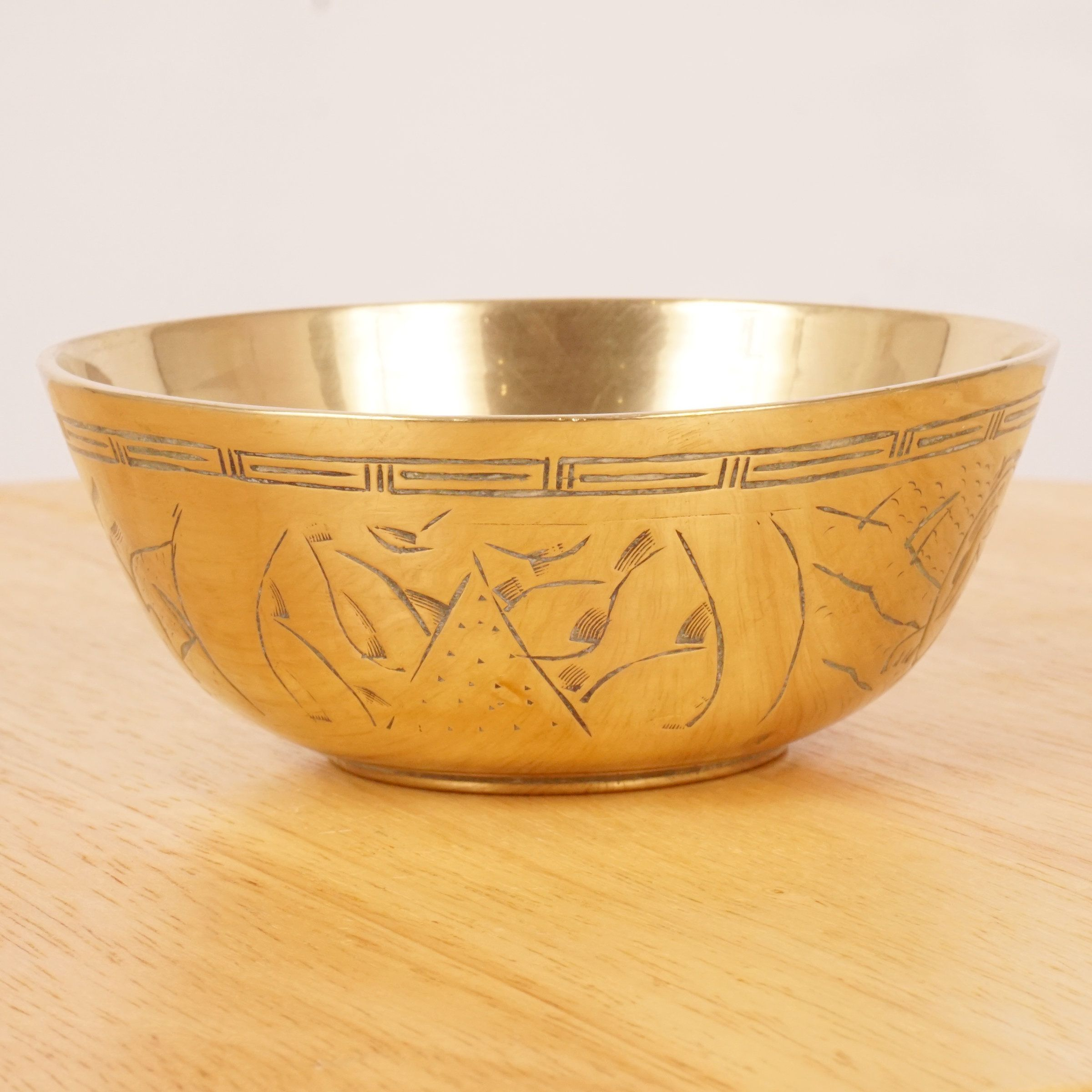Bowl Dish Vintage Solid Brass Made In China Dragon Bowl In 2020 Dragon Bowl Bowl Vintage