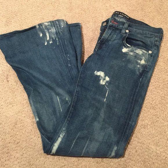 Ralph Lauren Black label jeans Excellent condition. Authentic black label jeans. Ralph Lauren Jeans Flare & Wide Leg