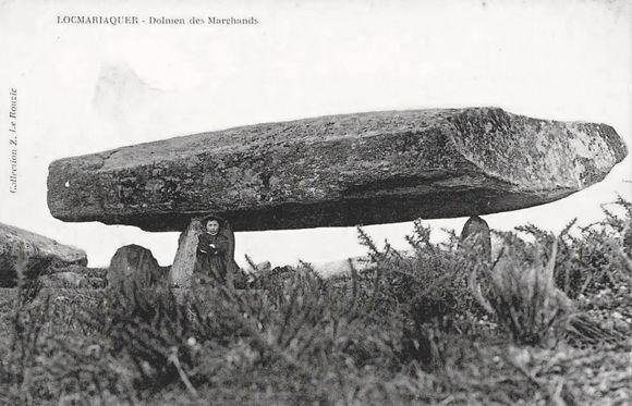 Locmariaquer le dolmen de la table des marchand france superbe bretagne archaeology et stone - Locmariaquer table des marchands ...