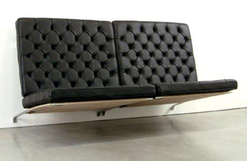 Poul Kjaerholm wall mounted seating