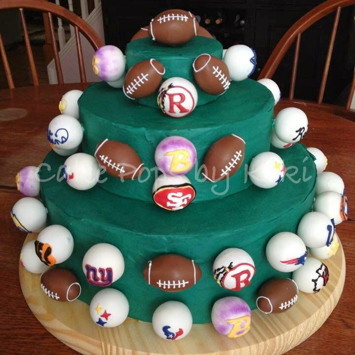 NY #Football #Sports #Deportes #FutbolAmericano #Cake #Torta