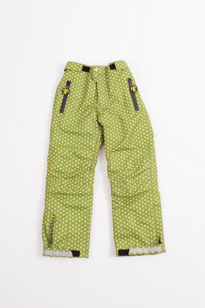 Ducksday Skihose Schneehose Lined Winterpants Funky Green