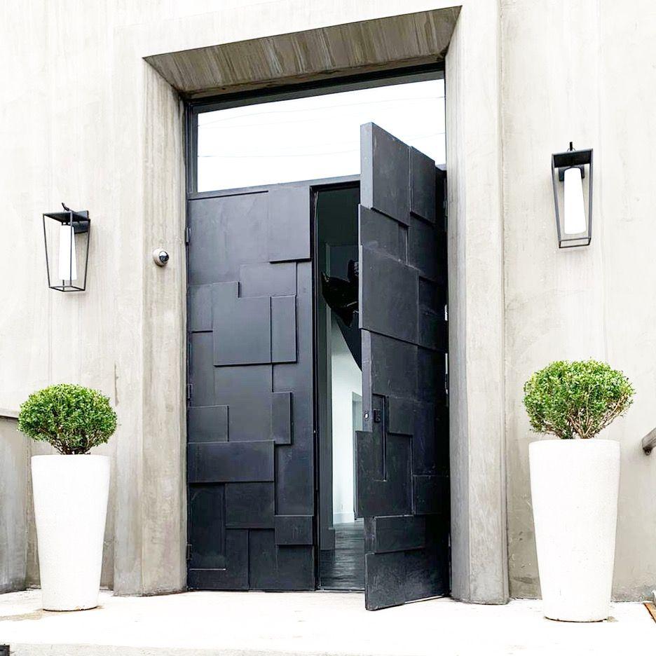 Not Your Average Entry Door🤩👌#custom #design #art #deco