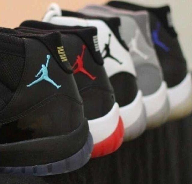 Celebrity Sneaker Watch: Richard Hamilton Displays Air Jordan XI Collection  Richard Hamilton has been a Jordan Brand athlete for what, years now?