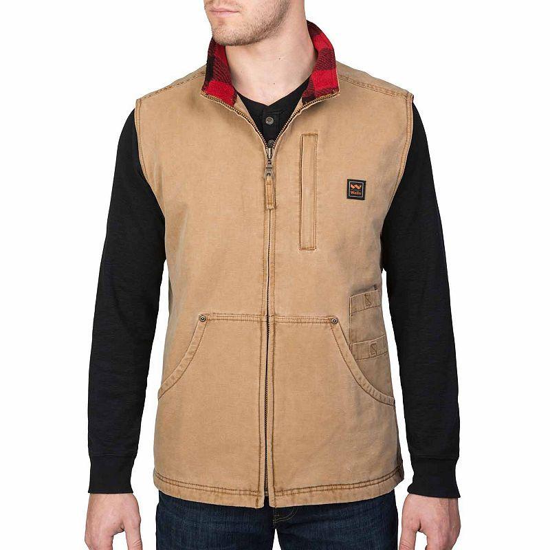 Walls Vintage Pecos Washed Duck Vest Vest Fashion Vintage
