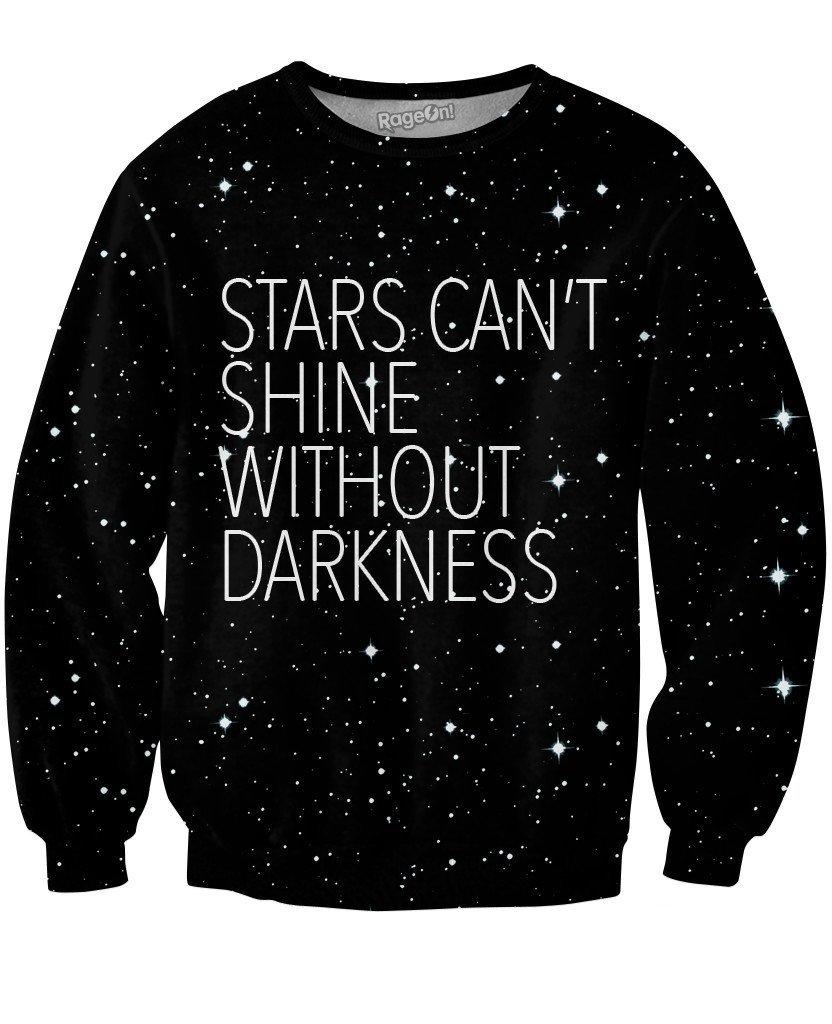 83db53e8b Stars Crewneck Sweatshirt | Custom Made Fashion | Sexy shirts, Crew ...