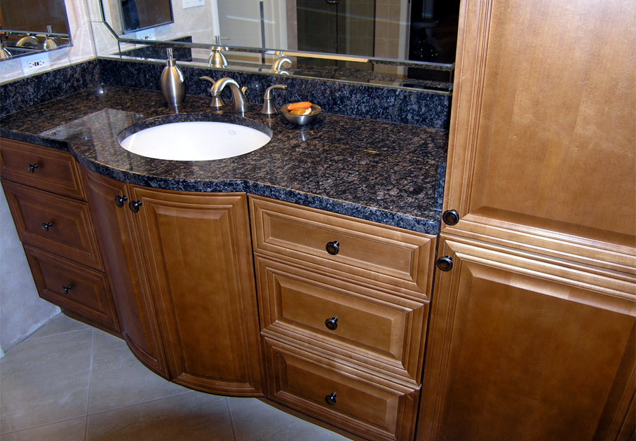 Bathroom Wood Cabinets