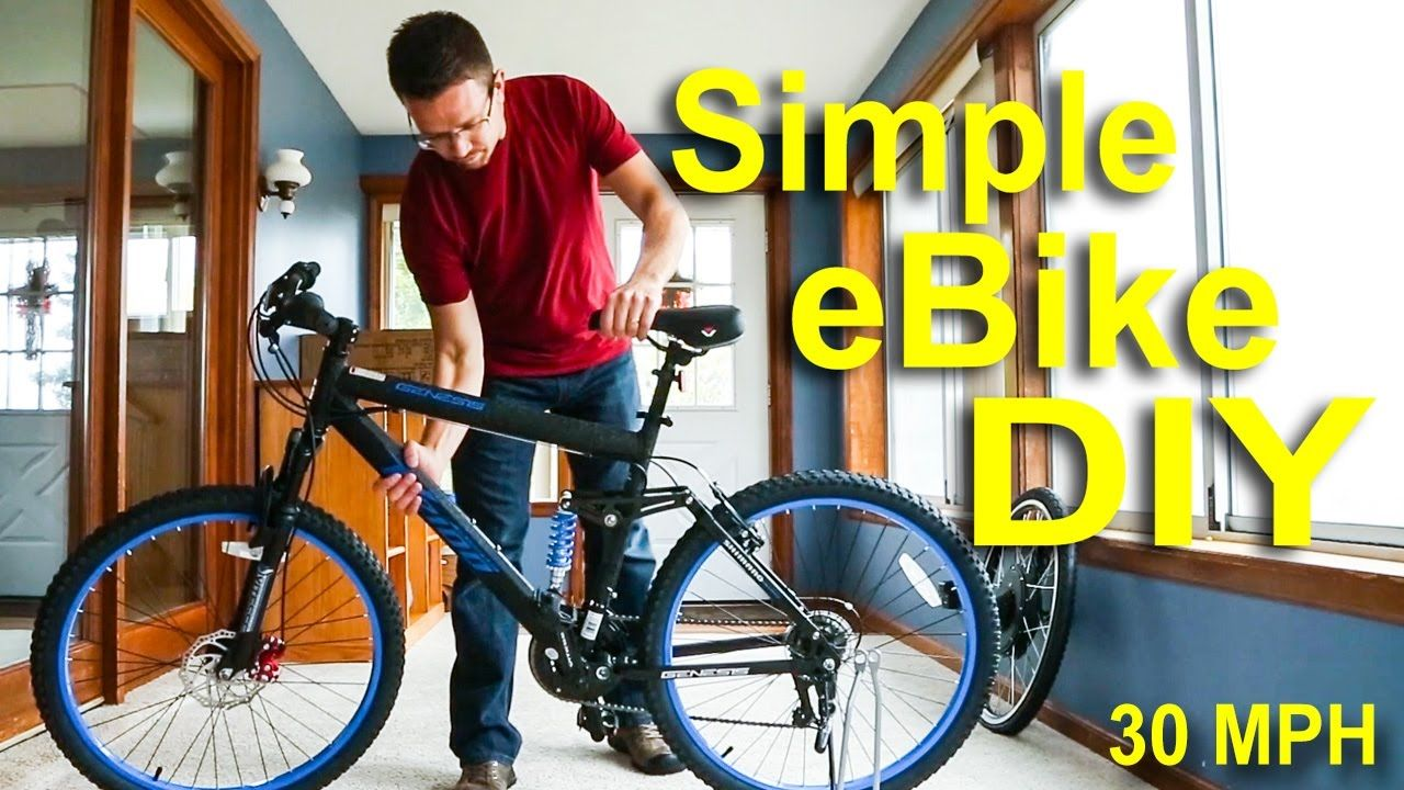 How To Make An Electric Bike For Under 500 Fast Cheap Ebike