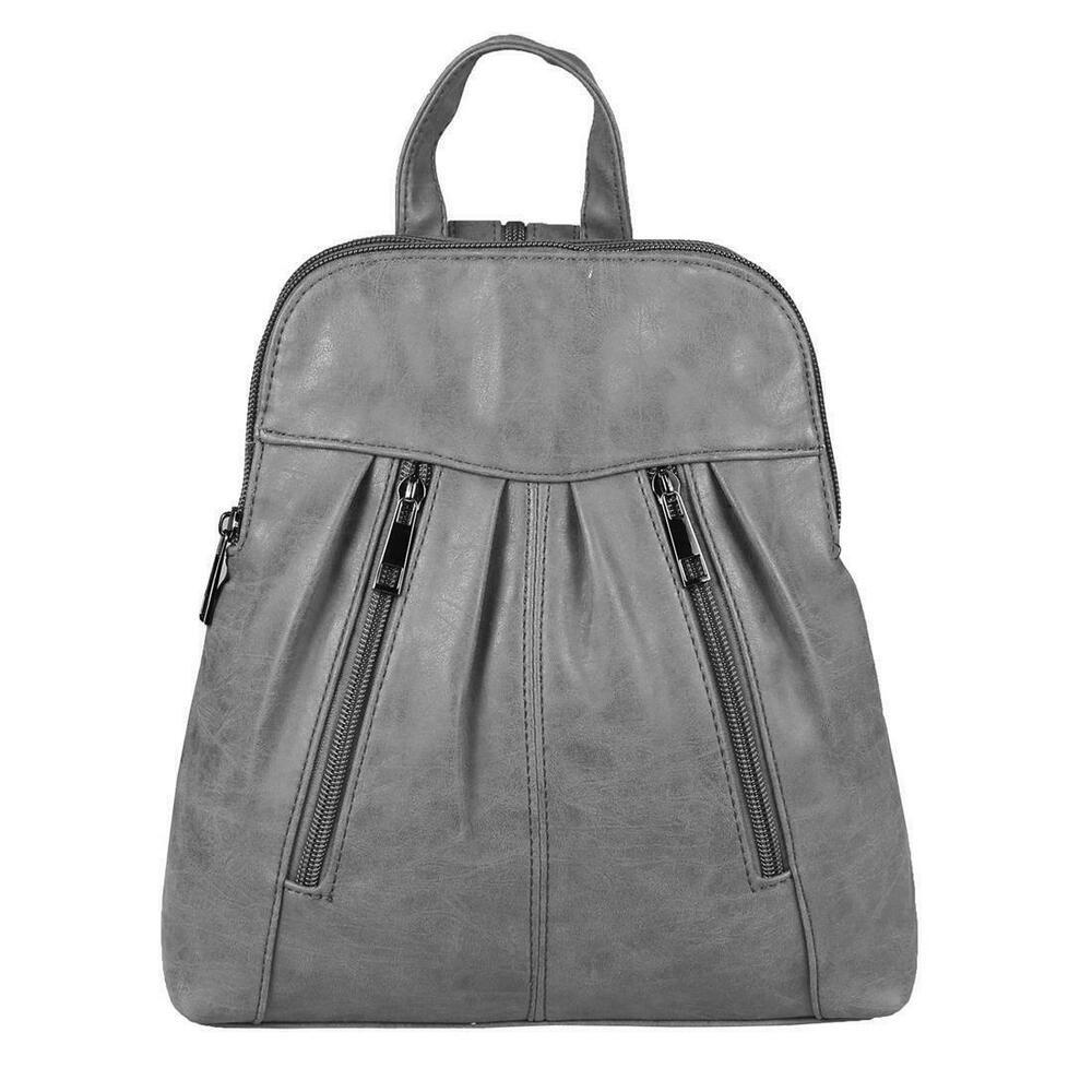 DAMEN Stadt RUCKSACK ORGANIZER SchulterTasche Backpack Leder