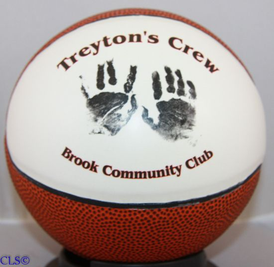 Creative Laser Solutions Personalized Mini Basketballs We Will Personalize A Basketball With Your Special Photo