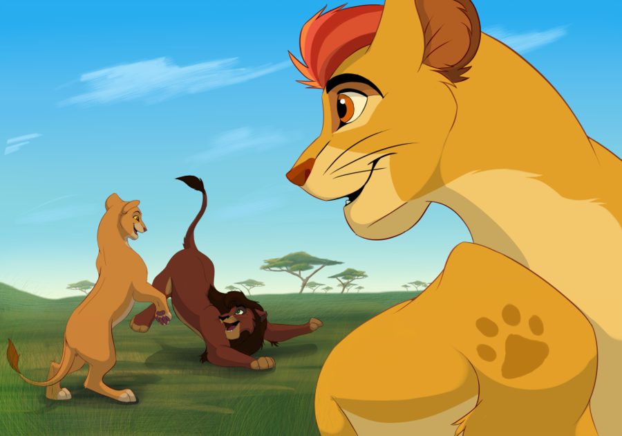 Kovu kiara and kion disney pinterest lions - Kion le roi lion ...
