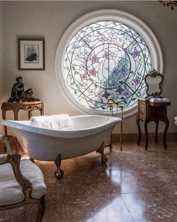 Serene bathing.
