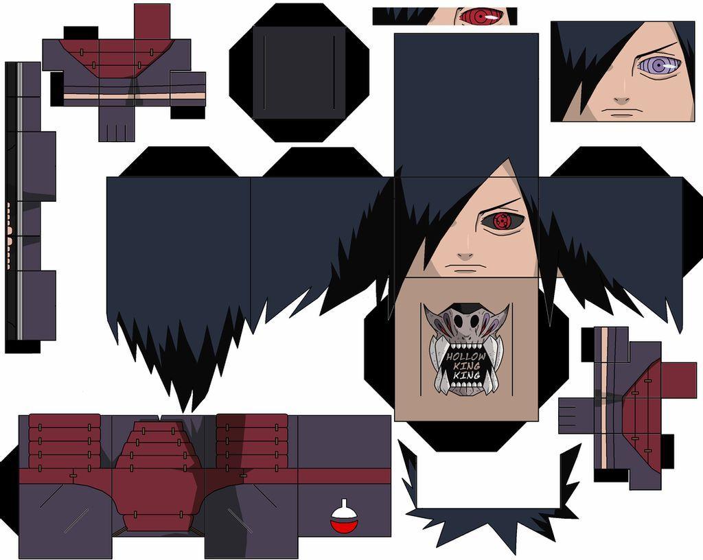 madara by hollowkingking on DeviantArt  Origami naruto, Anime