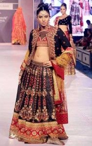 Designer Ritu Kumar's new collection for young #brides at Rajasthan Fashion Week (RFW) 2013 at the Fairmont.