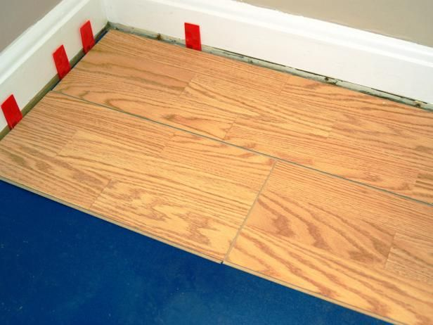 How To Install A Laminate Floating Floor Plancher Flottant