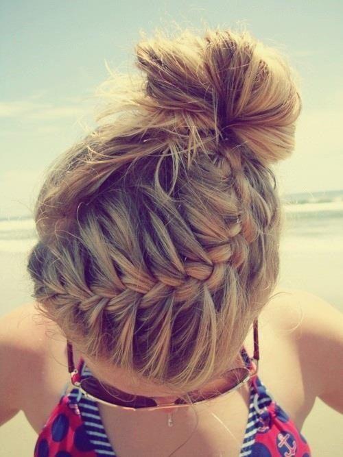 26 Pretty Braided Hairstyle For Summer Hair Pinterest Hair