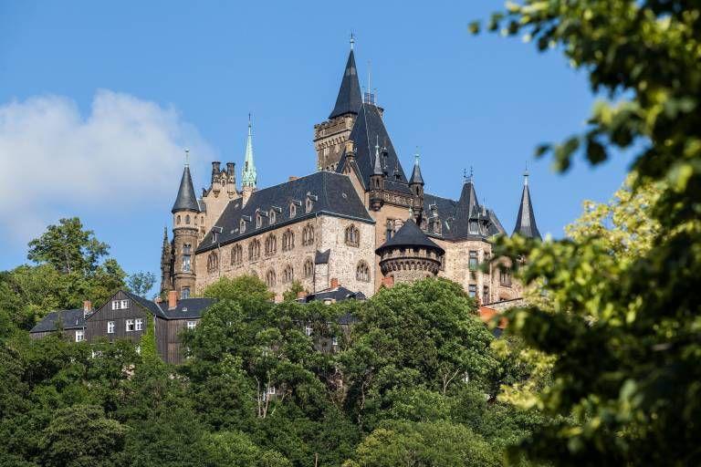Schloss Wernigerode Das Marchenschloss Im Harz Schloss Wernigerode Tagesausflug Wernigerode
