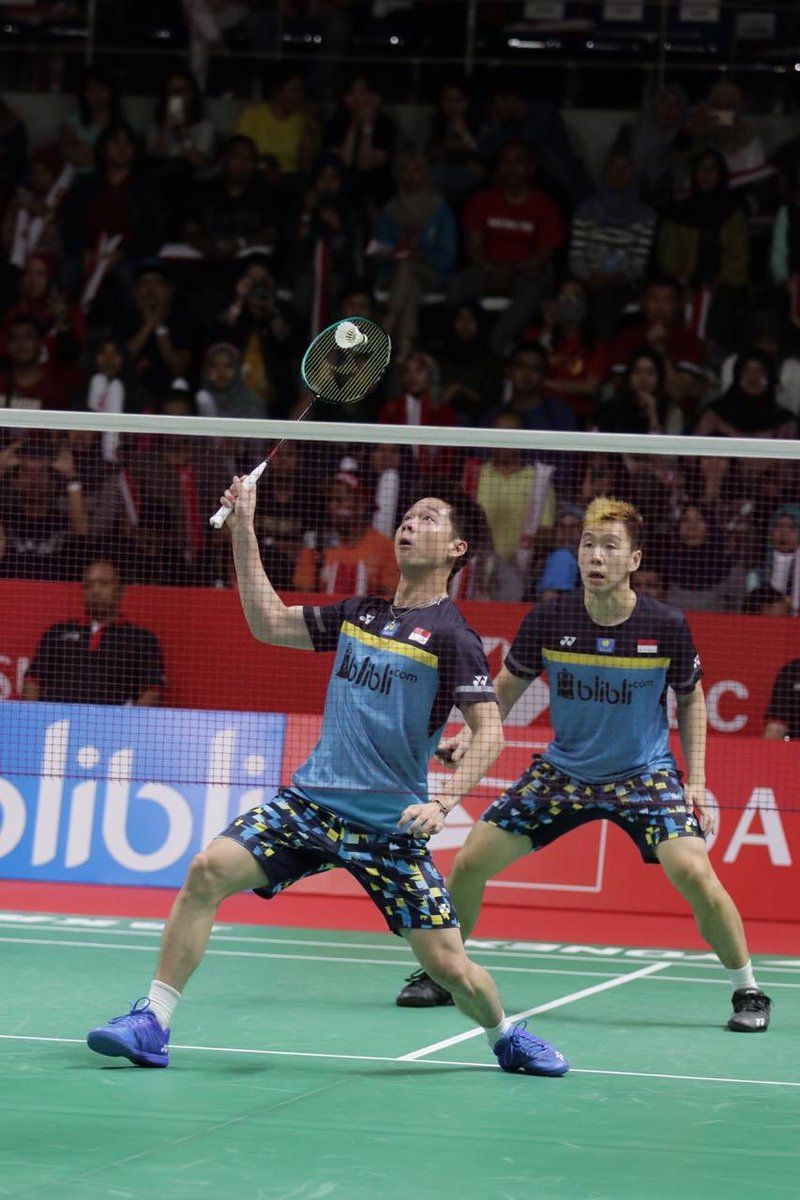 Hashtag IndonesiaMasters2019 di Twitter MINIONS KEVIN