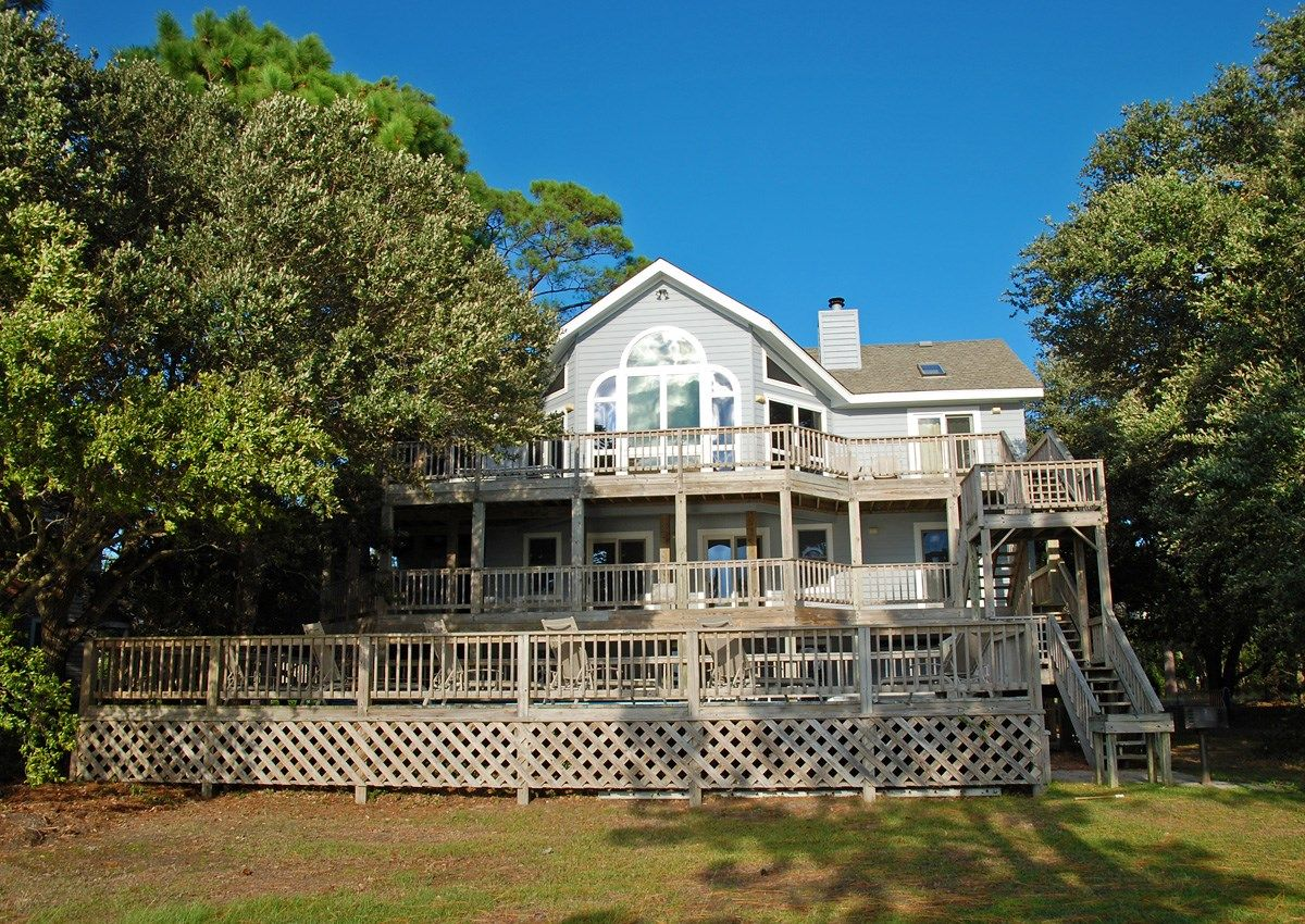 Twiddy Outer Banks Vacation Home - Tequila Sunset - Corolla - Soundfront - 5 Bedrooms