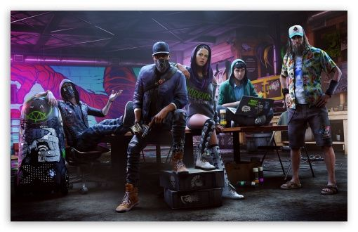 Watch Dogs 2 Hd Wallpaper For 4k Uhd Widescreen Desktop Smartphone Watch Dogs Watchdogs 2 Video Game Characters