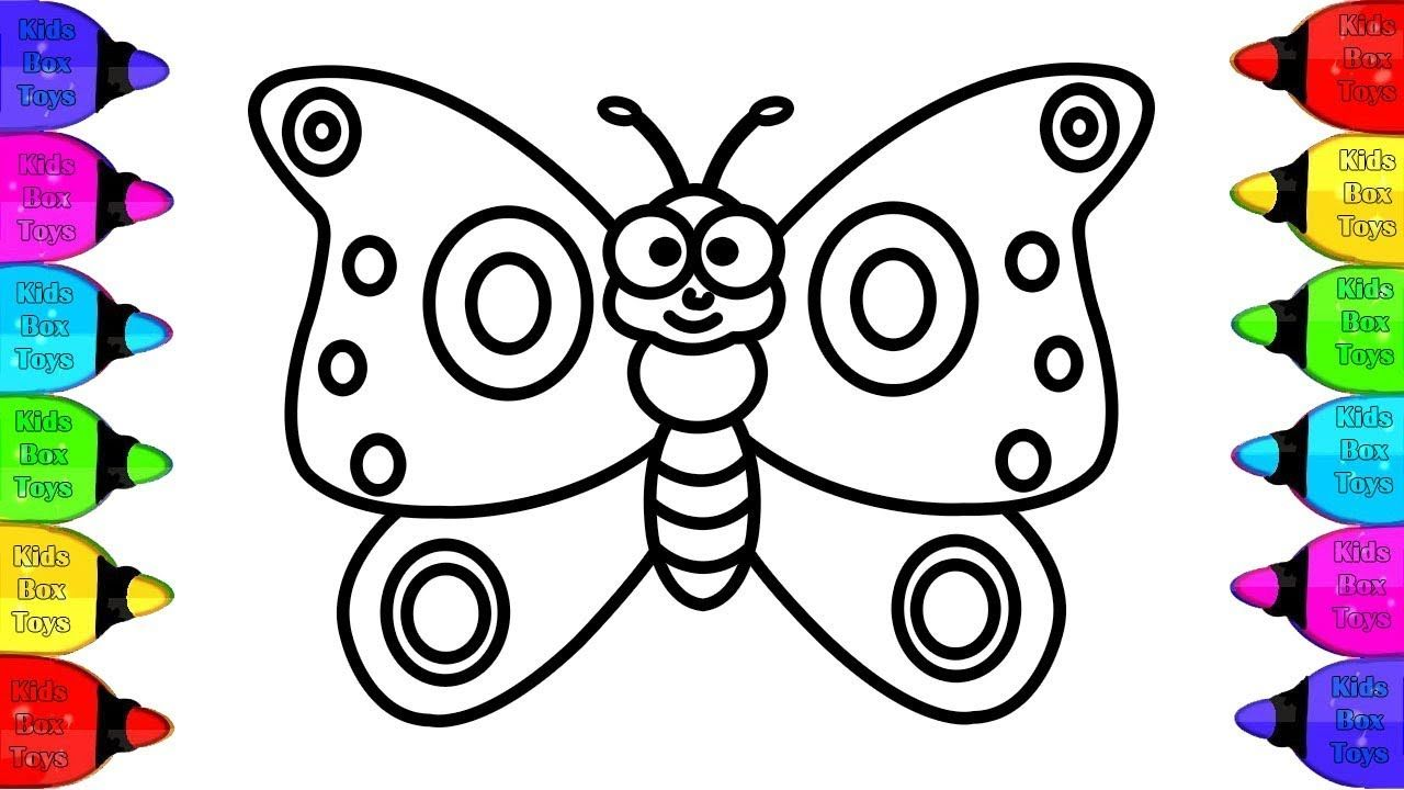 Butterfly Coloring For Kids Draw Butterfly Coloring Pages For Toddlers Butterfly Coloring Book Butterfly Coloring Page Coloring Pages Coloring Books