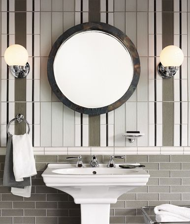 Rejuvenation Bath A Pair Of Brooks Wall Sconces In Polished Beauteous Wall Sconces Bathroom 2018