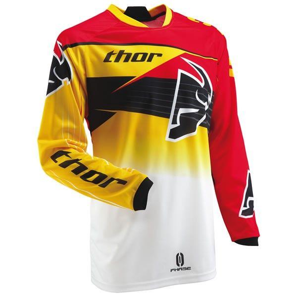 Download Thor Phase Streak Jersey Fortnine Canada Thor Motocross Jersey Design Jersey