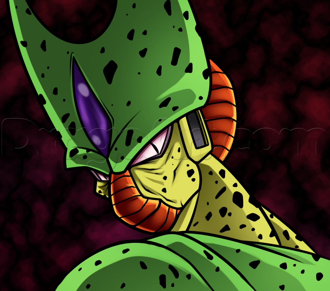 how to draw imperfect cell | DBZ | Pinterest