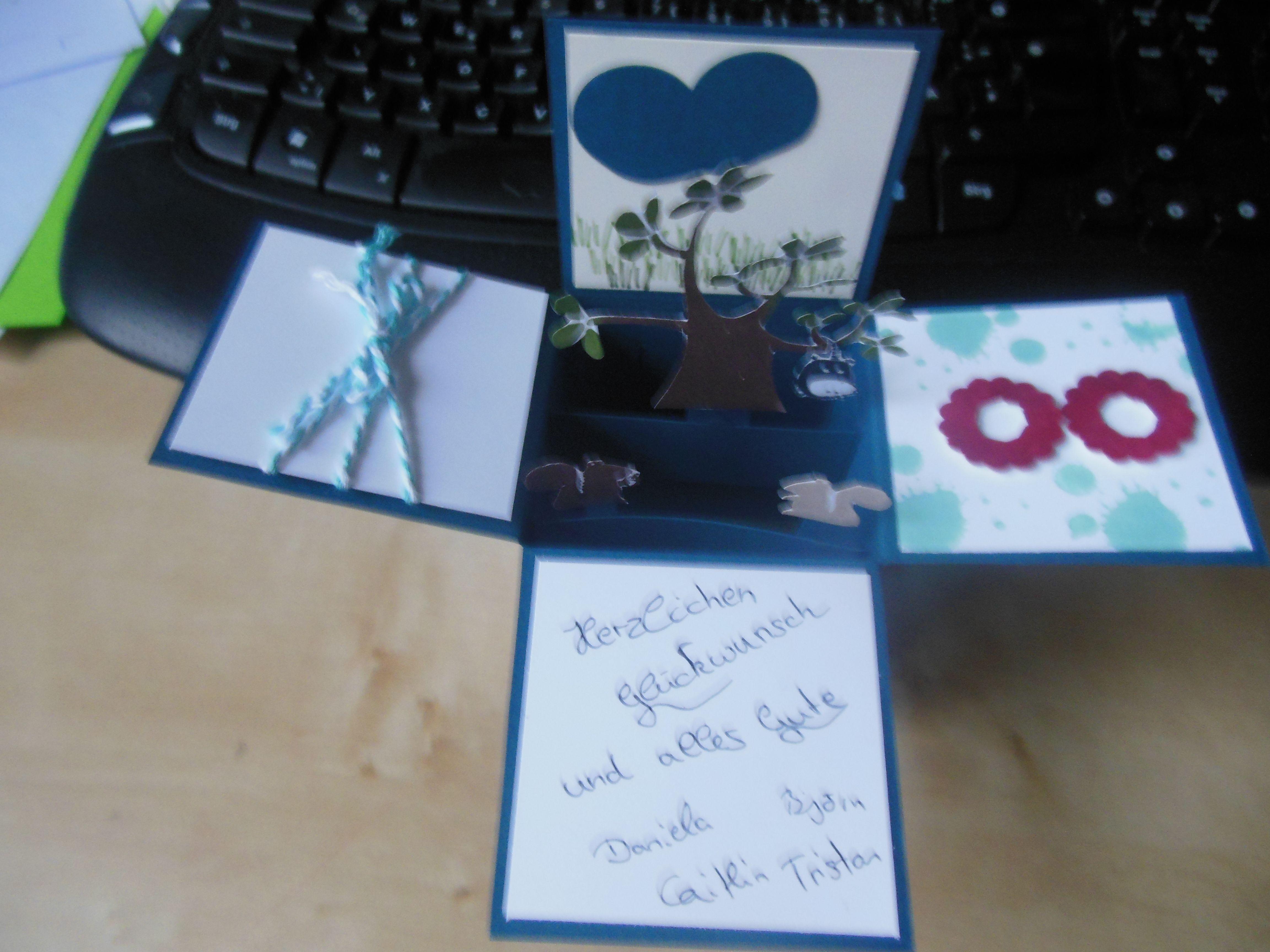 Card in a Box Geburtstag